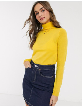 Brave Soul Colombia Roll Neck Jumper by Asos