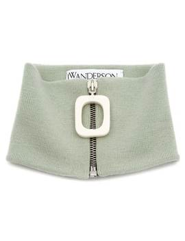Zipped Knitted Neckband by Jw Anderson