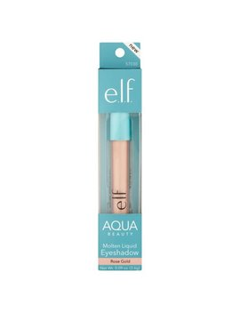 E.L.F. Aqua Beauty Molten Liquid Eyeshadow, Rose Gold by E.L.F. Cosmetics
