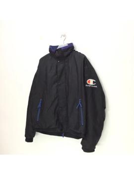 Champion Black Raincoats by Champion  ×