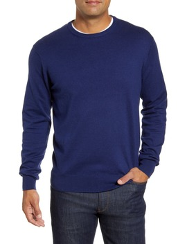 Crown Crewneck Sweater by Peter Millar