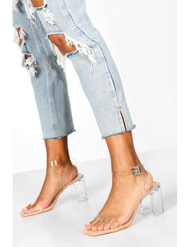 Interest Clear Heel 2 Parts by Boohoo