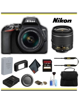 Refurbished Nikon 1590 D3500 Dslr Camera With 18 55mm Lens Starter Bundle by Best Buy