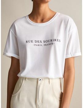 Shi Rt Aus Lyocell Und Baumwolle »Rue Des Sourires« by Massimo Dutti