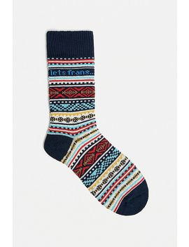 Iets Frans… Light Fair Isle Socks 1 Pack by Iets Frans...