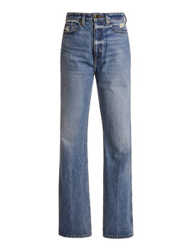 Danielle High Rise Jeans by Khaite