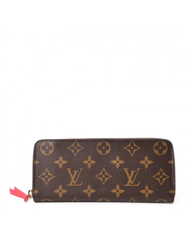 Louis Vuitton Monogram Clemence Wallet Freesia by Louis Vuitton