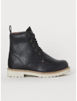 Men Black Boots by H&M