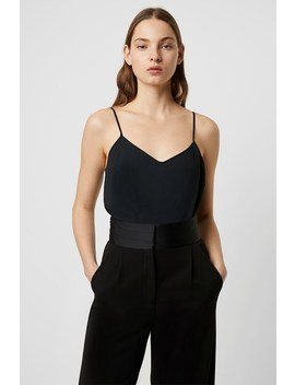 Tracey Jersey Crepe Cami Bodysuit by French Connection