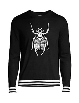 Merino Wool Beetle Sweater by Paul Smith