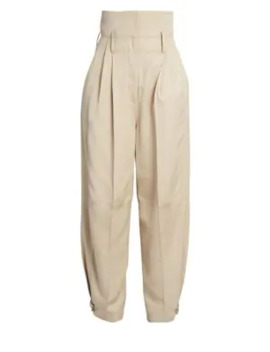 High Rise Belted Wide Leg Pants by Givenchy
