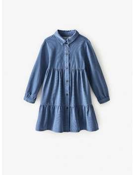 Needlecord Shirt Dress by Zara