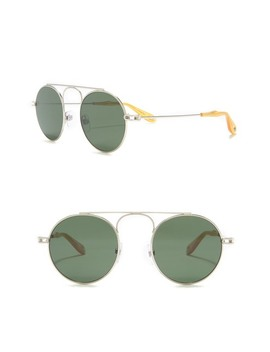 48mm Round Aviator Sunglasses by Givenchy