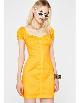 Citrus Summer Saint Mini Dress by Dolls Kill
