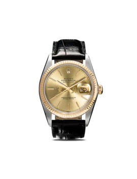 Rolex Oyster Perpetual Datejust 36mm by Lizzie Mandler Fine Jewelry