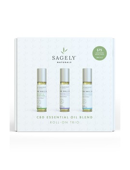 Cbd Roll On Essential Oil Set by Sagely Naturals