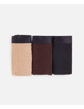 3 Klassieke Slips Met Dierenprint by Oysho