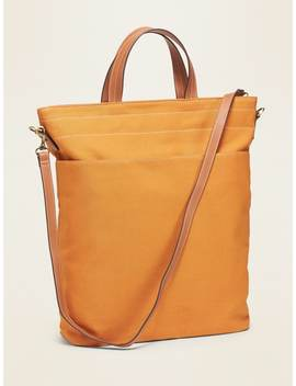 Dual Strap Canvas Tote For Women by Old Navy