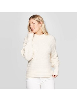 Women's Long Sleeve Crewneck Femme Pullover Sweater   Universal Thread™ by Universal Thread