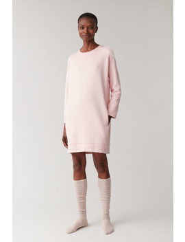 Cotton Sweatshirt Dress by Cos
