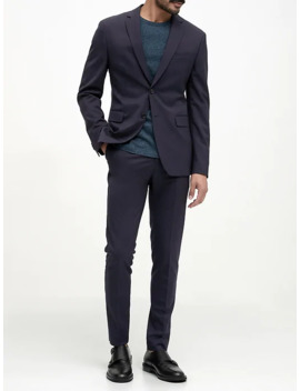 Extra Slim Italian Wool Suit Jacket by Banana Repbulic
