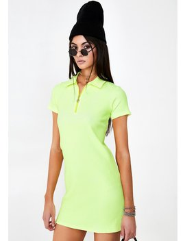 Lemon Tennis Dress by Why Not Us