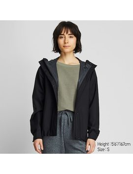 Women Blocktech Hooded Parka (73) by Uniqlo