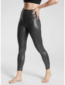Elation Ultra High Rise Shimmer Tight In Powervita™ by Athleta