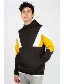Mens Colour Block Anorak Jacket by Bluenotes