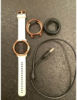 Garmin Vívoactive 3 Gps Smartwatch   White/Rose Gold With 2 Covers/Cases by Garmin