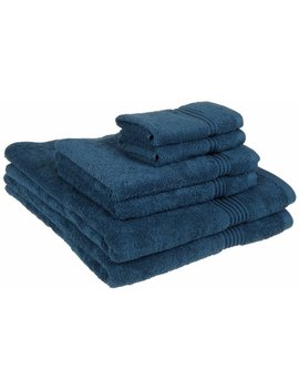Haus&Home 6 Piece Egyptian Quality Cotton Towel Set by Zipcode Design