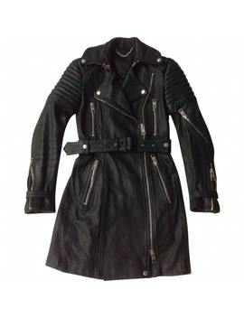 Leather Coat by Burberry
