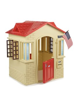 Cape Cottage 3.56' X 2.92' Playhouse by Little Tikes
