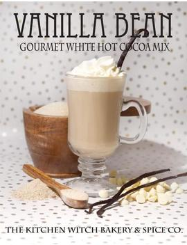 Vanilla Bean Gourmet White Hot Chocolate   Cocoa Mix   Biologique   Artisan by Etsy