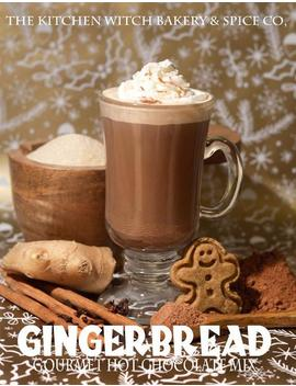 Gingerbread Gourmet Hot Chocolate   Cocoa Mix   Biologique   Vegan   Artisan by Etsy