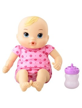 Baby Alive Luv N Snuggle Baby Doll Blonde by Baby Alive