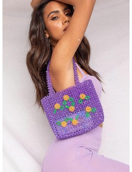 Florist Beaded Bag by Princess Polly