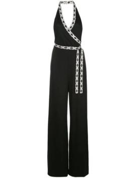 Ruby Swarovski Embellished Jumpsuit by Diane Von Furstenberg