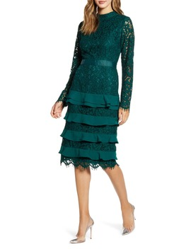 Long Sleeve Lace Dress by Rachel Parcell