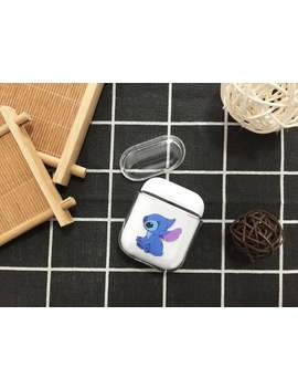 Cute Stitch Lilo & Stitch Apple Air Pod Case Disney Cartoon Air Pods Case Plastic Air Pods Clear Inspired Shock Air Pod Cover Protective Case by Etsy