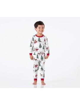 Santa Tight Fit Pajamas by Pottery Barn Kids
