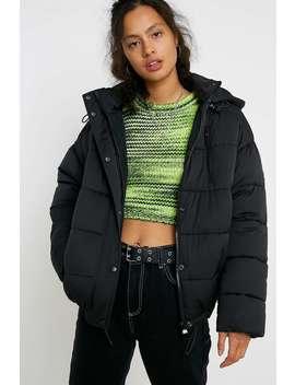 Iets Frans... Longline Hooded Puffer Jacket by Iets Frans...