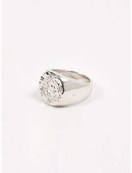 Silk Coin Ring   Sterling Silver by Tom Wood