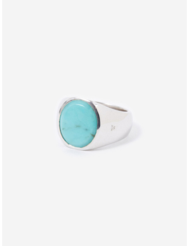 Oval Ring   Turquoise by Tom Wood