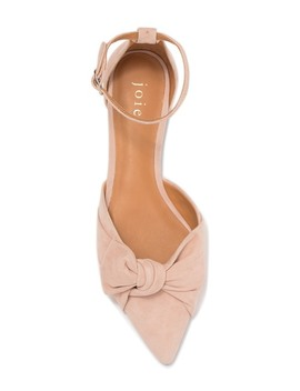 Tarlo Suede Pointed Toe Flat by Joie