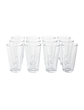 Mainstays 16 Ounce All Purpose Cooler Glasses, Set Of 12 by Mainstays