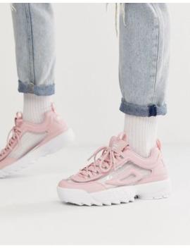 Fila – Disruptor Ii – Rosa Sneakers by Fila