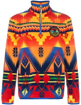 Sweatshirt Mit Geometrischem Print by Polo Ralph Lauren
