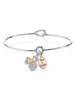 Minnie Mouse Two Tone Bracelet | Shop Disney by Disney