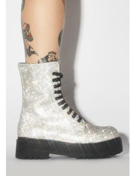 Diamond Duchess Bling Boots by Poster Grl